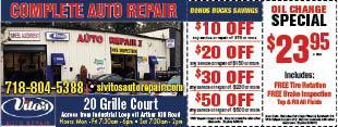Vito's Auto Repair Ii Staten Island