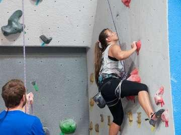 Vertical Hold Sport Climbing