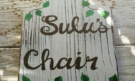 Susanna at Sulu's Chair