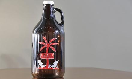Craft Growlers To Go & Tasting Room