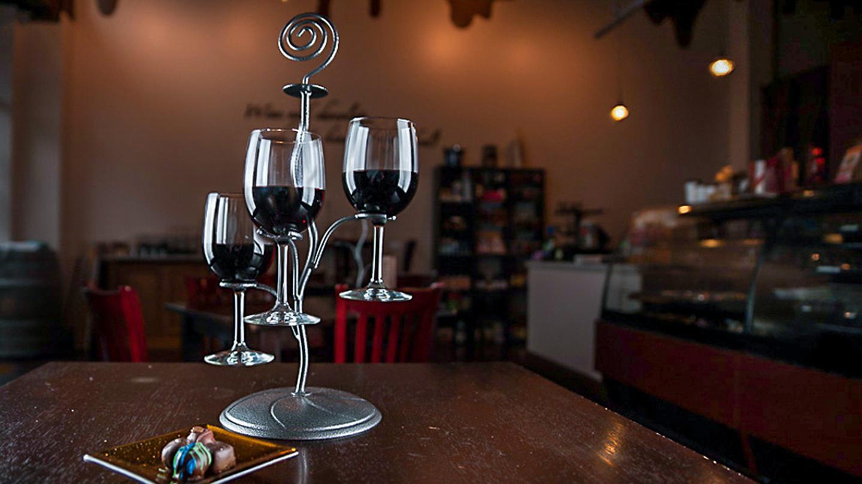Sweet Decadence Wine and Chocolate Bar