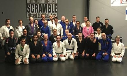 The Scramble BJJ and MMA