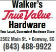 Walkers True Value Hardware