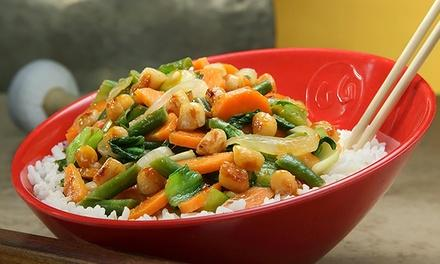 Genghis Grill - Build Your Own Stir Fry