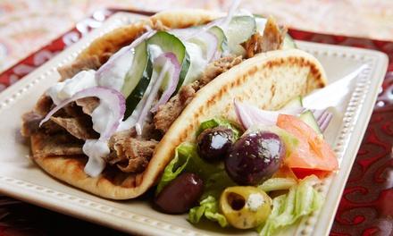 Never On Sunday Greek Food