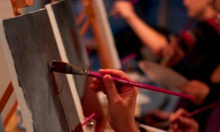 The Purple Paintbrush