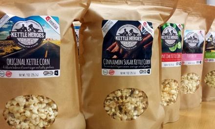 Kettle Heroes Gourmet Artisan Popcorn