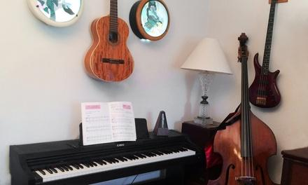 Patient Lessons on Guitar, Bass and Piano
