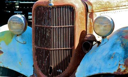 Antique Gas & Steam Engine