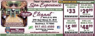 Elegant Nails And Spa