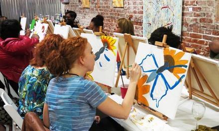 QBHOME Paint & Sip Studio