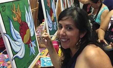 Corazones On Fire: Painting With A Cultural Edge