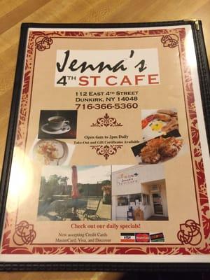 Jenna's 4th St Cafe