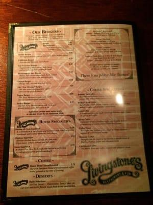 Livingstone's Restaurant