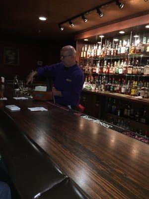Bourbon Bar @ Jockey Silk's