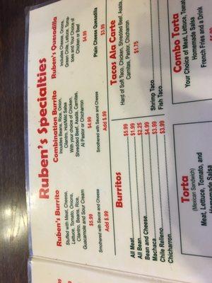 Ruben's Grill Mexican Restaurant & Mariscos