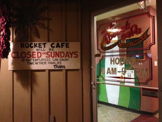 The Rocket Cafe