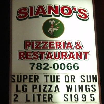 Siano's Pizzeria & Restaurant