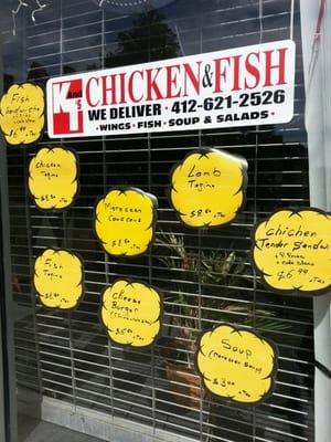 K & T's Fish & Chicken