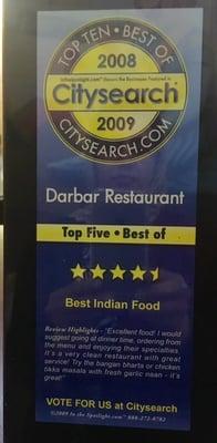 Darbar Fine Pakistani & Indian Cuisine