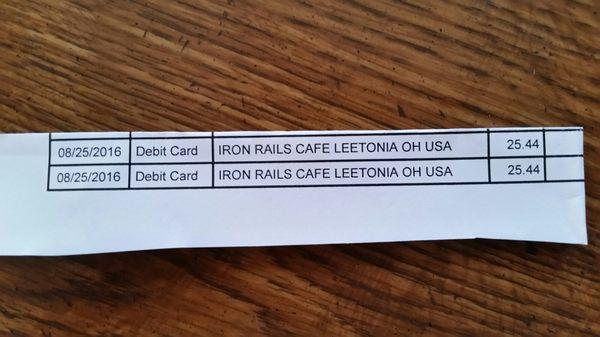 Iron Rails Cafe