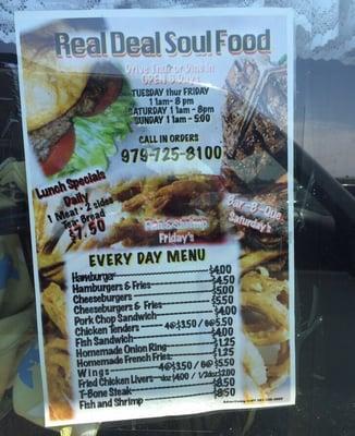 Real Deal Soul Food