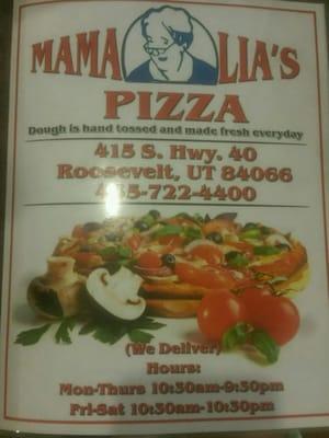 Mama Lia's Pizza