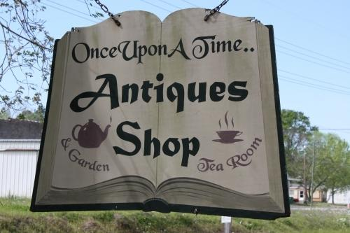 Once Upon A Time Antique Shop and Garden Tea Room