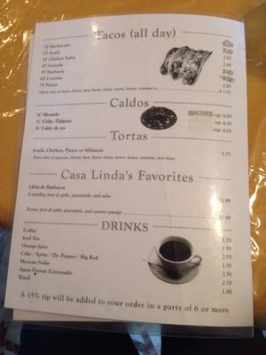 Casa Linda Mexican Restaurant