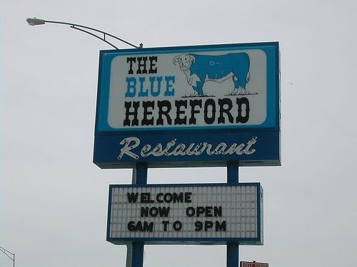Blue Hereford