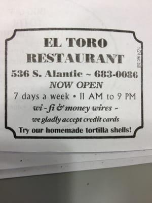 Tacos El Toro