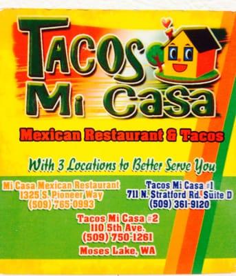 Tacos Mi Casa # 2