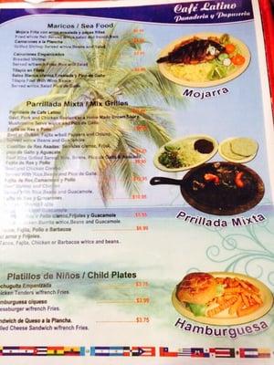 Cafe Latino Panaderia y Pupuseria