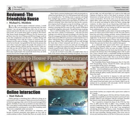 Friendship House Family Restaurant