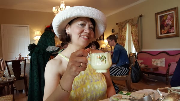 High Tea with Gerri