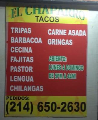 Tacos El Chaparro