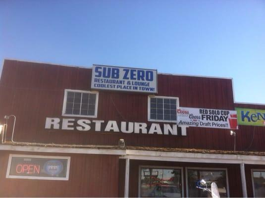Sub Zero Restaurant and Lounge