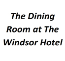 The Dining Room at The Windsor Hotel