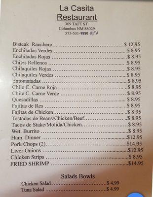 La Casita Restaurant
