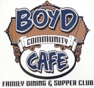 Boyd Community Cafe Family Dining and Supper Club