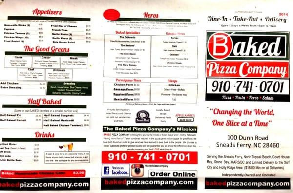 Baked Pizza Company