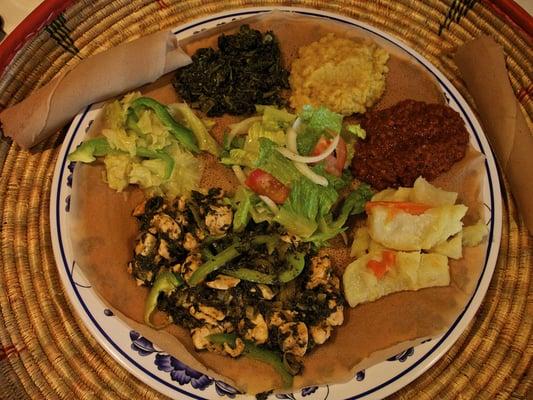 Abyssinia Authentic Ethiopian Cuisine Restaurant