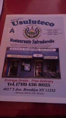 Restaurant Salvadoreno Usuluteco