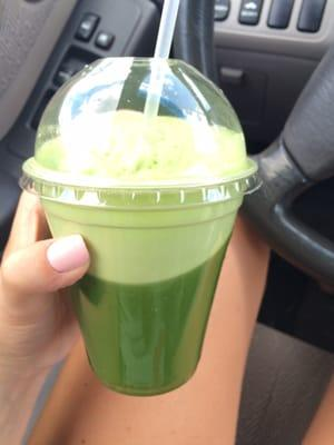 Green Juice and Ham