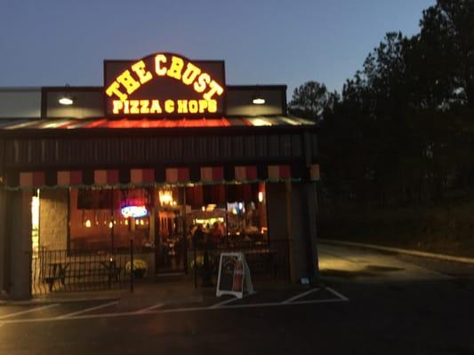 The Rising Crust Pizza and Hops