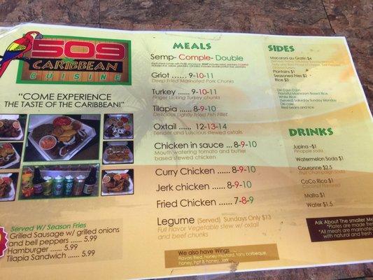 509 Caribbean Cuisine