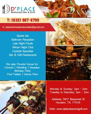 D'Place Restaurant & Sportsbar