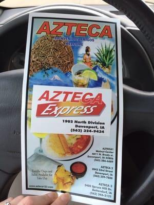 Azteza Express Resturant Inc