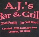 A.J.'s Bar & Grill
