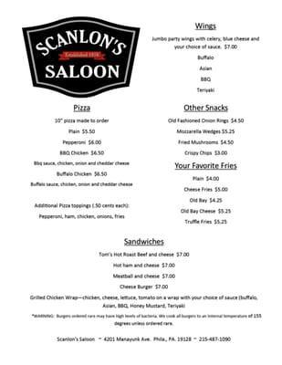 Scanlon's Saloon